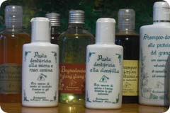 Shampoo all'olio di germe di Grano.